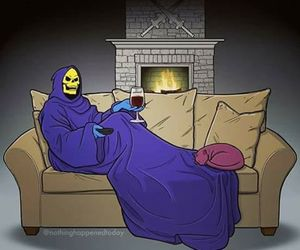 free, relax, and wine image