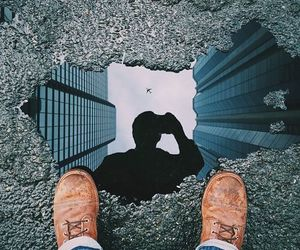 little, reflect, and thinking image