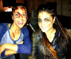 the 100, marie avgeropoulos, and octavia blake image