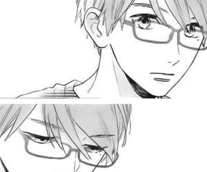 black&white, manga, and monochrome image