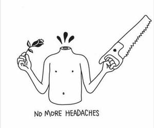art, headache, and aesthetic image