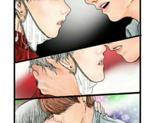 fanart, yoonkook, and suga image