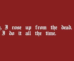 Lyrics, red, and Reputation image