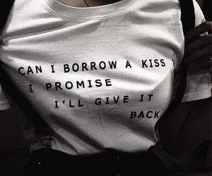 kiss, quotes, and grunge image