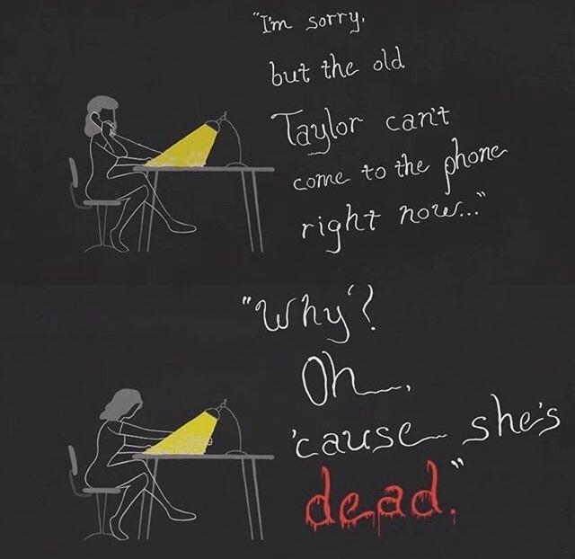 Taylor Swift, Reputation, and Lyrics image