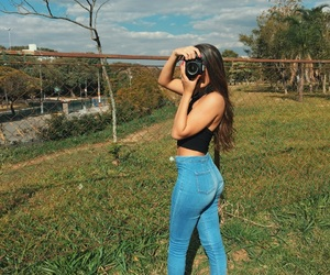 ass, booty, and jeans image