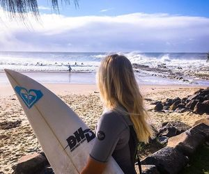 girl, life, and surf image