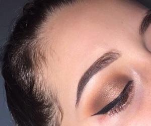 eyebrow, eyeliner, and fall image