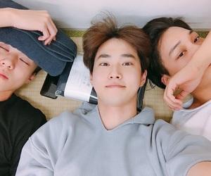 kai, suho, and exo image