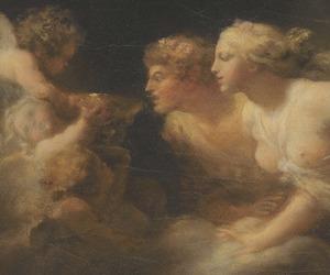 rococo, fragonard, and fountain of love image