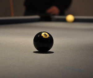 numbers, pool table, and 8 Ball image