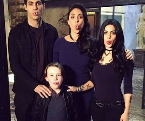 shadowhunters, emeraude toubia, and matthew daddario image