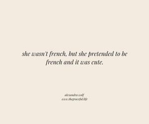 paris, quote, and parisienne image