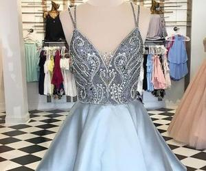 sexy homecoming dresses, a line prom dresses, and silver homecoming dress image