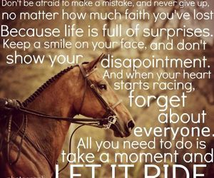 horse, quote, and riding image