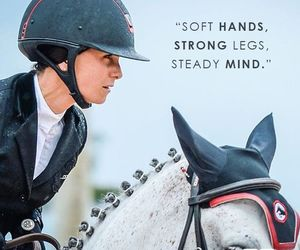 equestrian, hands, and legs image