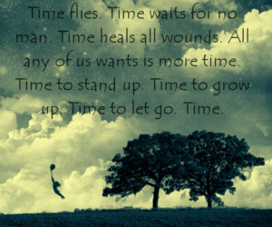 blacknwhite, quote, and time image
