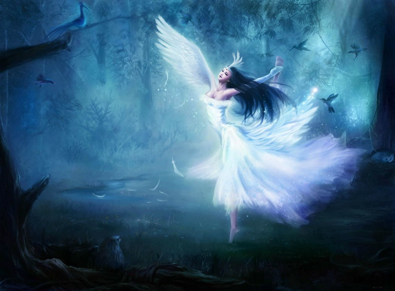 fantasy and angel image