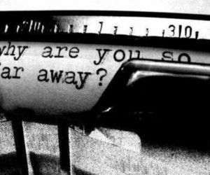 love, far away, and distance image