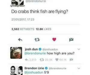 brendon urie, funny, and P!ATD image