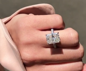 engagement, ring, and girl image