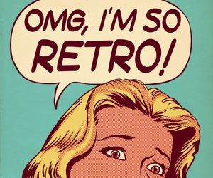 retro, OMG, and vintage image