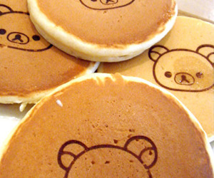 rilakkuma, food, and pancakes image