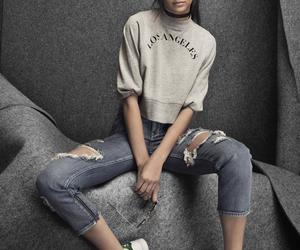 adidas, Kendall, and model image