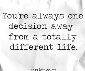 change, decision, and inspire image