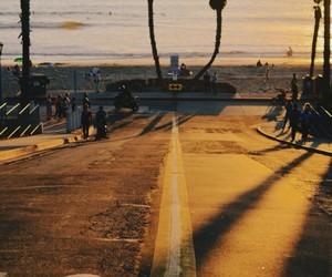 beach, roads, and trip image