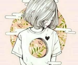 art, pink, and anime image