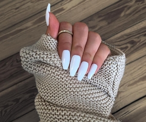 dress, nail art, and nail ideas image