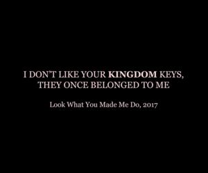 black, kingdom, and Lyrics image