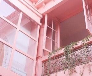 pink, aesthetic, and window image