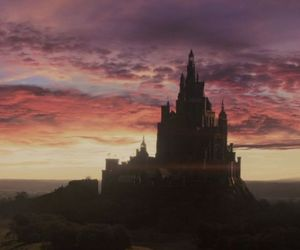 maleficent, disney, and castle image