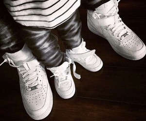 baby and sneakers image