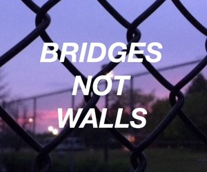 aesthetic, bridges, and Lyrics image