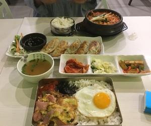 food, korean food, and dosirak image