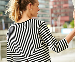chic, stripes, and city image