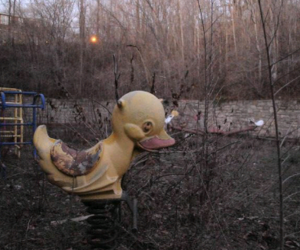 abandoned and playground image
