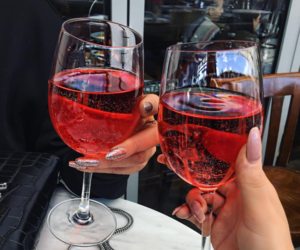 drink, wine, and nails image