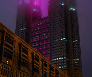 aesthetic, city, and vaporwave image
