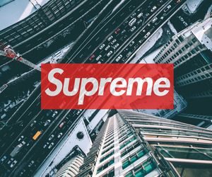 city, supreme, and tumblr image