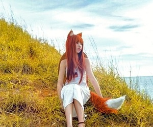 beauty, outdoor, and cosplay image