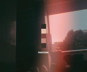 building, film, and pantone image