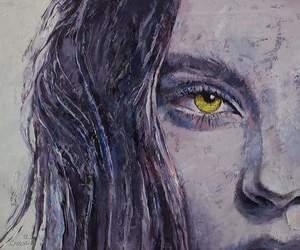 art, tumblr, and eyes image