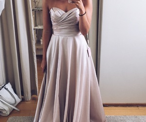 beauty, chic, and promdress image