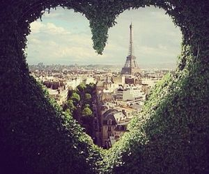 heart, paris, and wonderful image