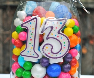 birthday, number, and b'day image