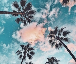 sky, blue, and summer image